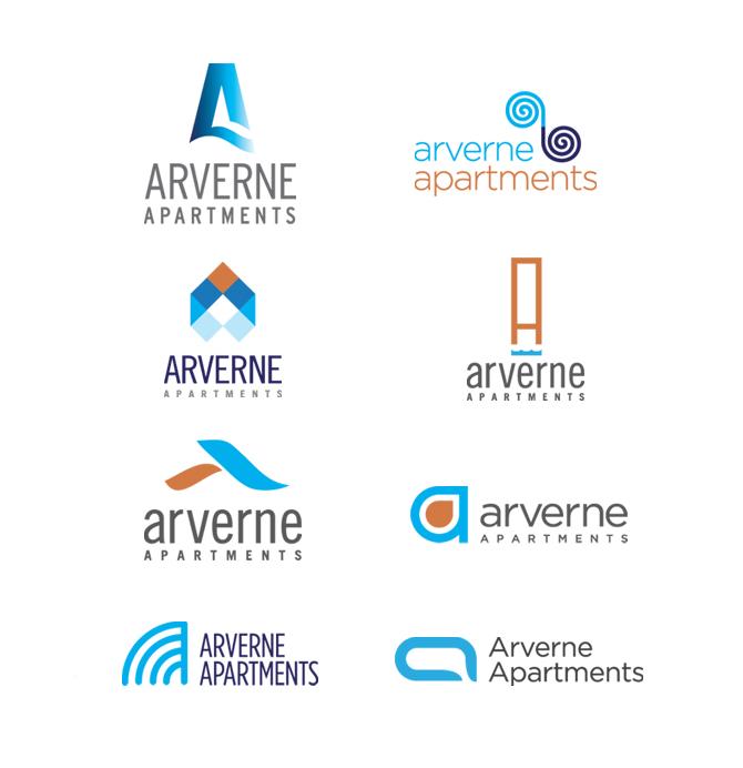 Modern logos joy studio design gallery best design for Apartment logo design